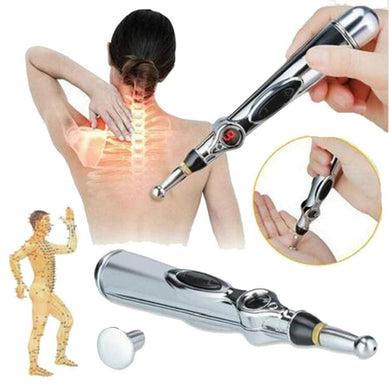 2019 New Electronic Acupuncture Pen Electric Meridians Laser Therapy Heal Massage Pen Meridian Energy Pen Relief Pain Tools - Bolsunovskiy