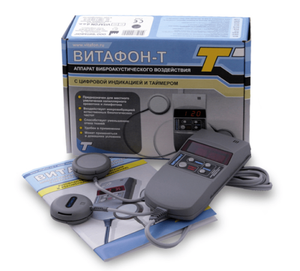 VITAFON-T DEVICE VIBROACOUSTIC EXPOSURE DIGITAL INDICATOR TIMER ВИТАФОН - Bolsunovskiy