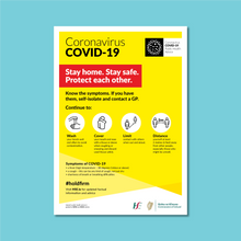Load image into Gallery viewer, Covid 19 Safety Posters
