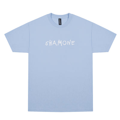 Shamone Basic Logo T-Shirt: Powder Blue | Shamone | Streetwear Clothing Melbourne