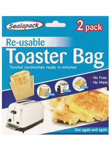 Reuseable Toaster Bags 2 Pack - ClothesLabels.UK