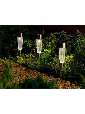 Fluted LED Path Marker Light 10 pk - ClothesLabels.UK