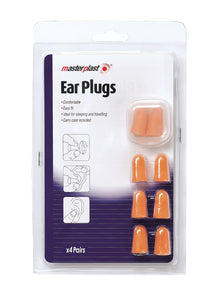 Ear Plugs 4 Pairs Pack - ClothesLabels.UK