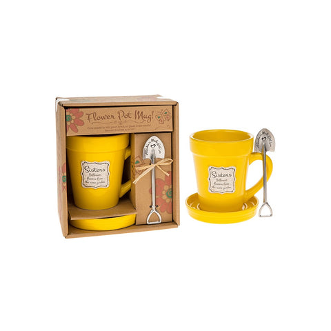 Flowerpot Sister's Mug - ClothesLabels.UK