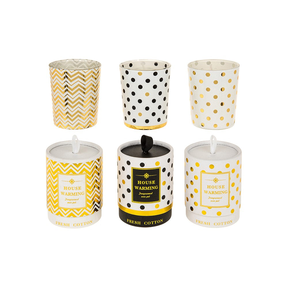 Fresh Cotton House Warming Candle Small - ClothesLabels.UK