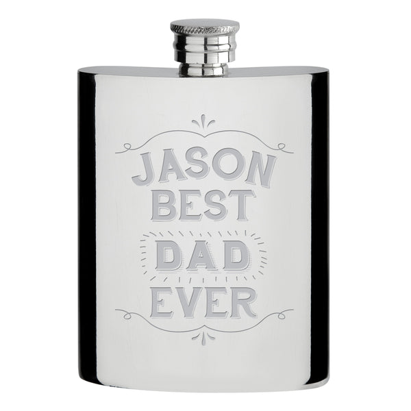 Best Ever Hipflask - ClothesLabels.UK