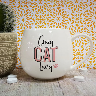 Crazy Cat Lady Hug Mug - ClothesLabels.UK