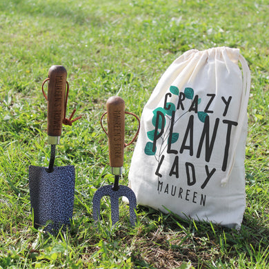 Crazy Plant Lady Garden Tool Set - ClothesLabels.UK
