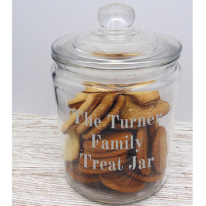 Personalised Biscuit Jar - ClothesLabels.UK