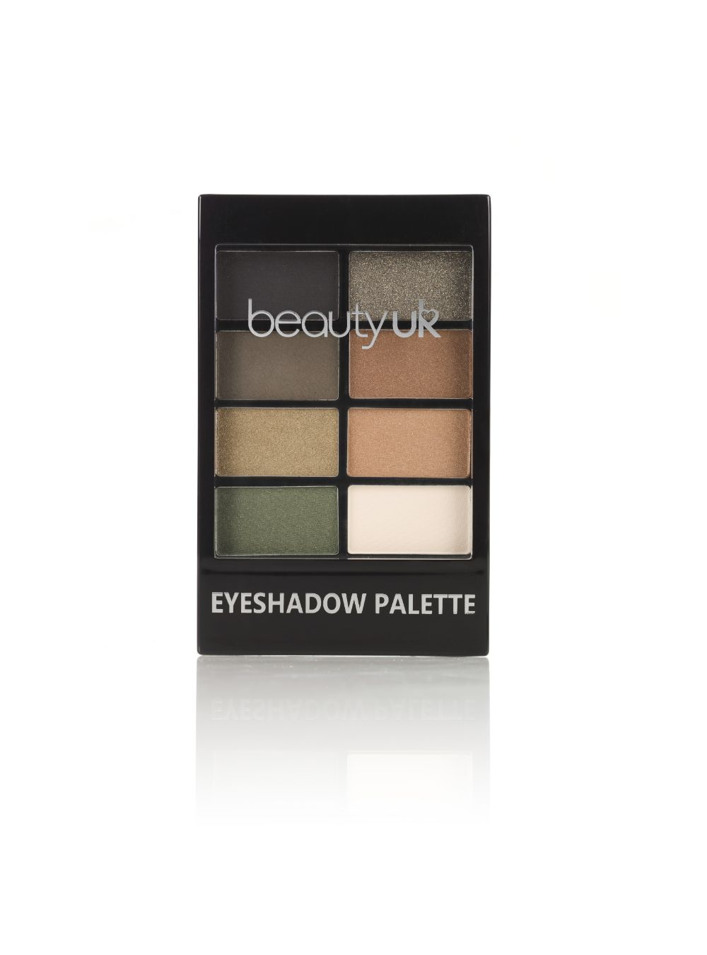 Eyeshadow Pallete - Green With Envy by BeautyUK - ClothesLabels.UK