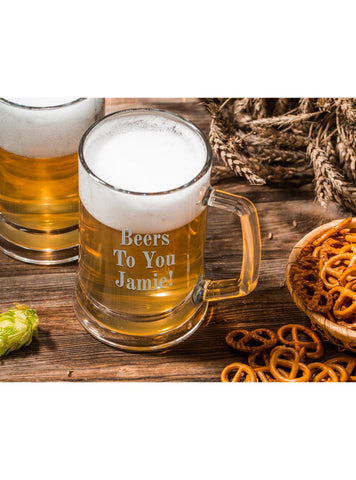 PERSONALISED BEER TANKARD - STEIN - ClothesLabels.UK