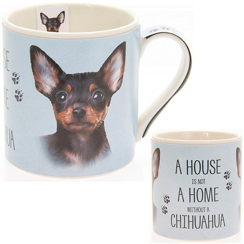 Chihuahua House & Home Fine China Mug