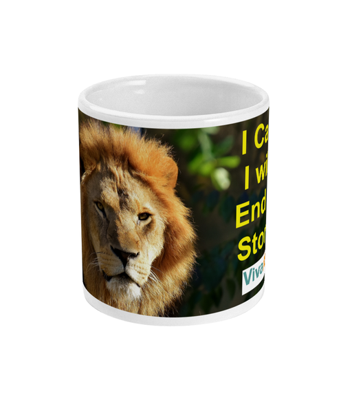 I Can, I Will, End of Story VivaMK Mug. - ClothesLabels.UK