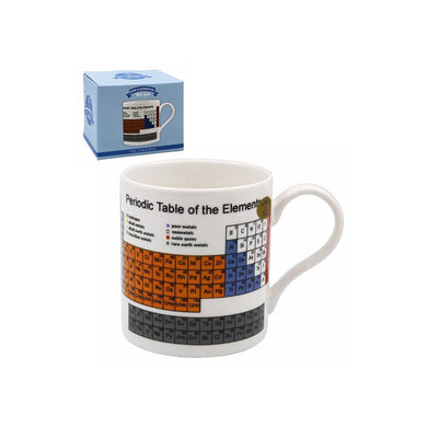 Periodic Table Tea Coffee Educational Novelty Mug Gift Boxed Fine China - FREE UK Delivery - ClothesLabels.UK