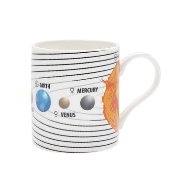 Solar System Tea Coffee Educational Novelty Mug Gift Boxed Fine China - FREE UK Delivery - ClothesLabels.UK