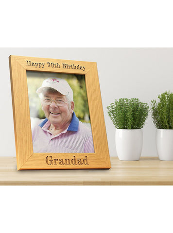 Personalised Wooden Photo Frame - ClothesLabels.UK