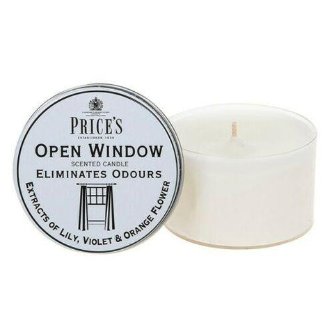 Price's Fresh Tin Open Window Candle Anti Odour Candle - ClothesLabels.UK