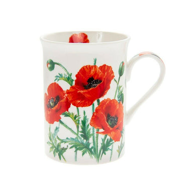 Wild Poppy Mug – Gift Boxed - ClothesLabels.UK