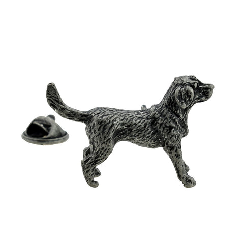 Retriever Dog Lapel Pin Badge - ClothesLabels.UK