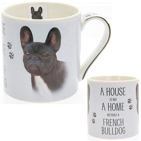 French Bulldog House & Home Fine China Mug