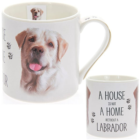 Golden Labrador House & Home Fine China Mug