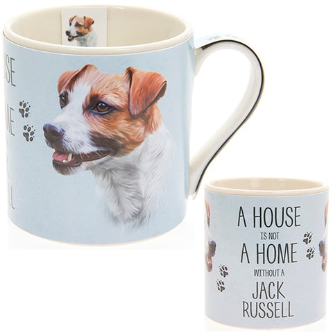 Jack Russell House & Home Fine China Mug