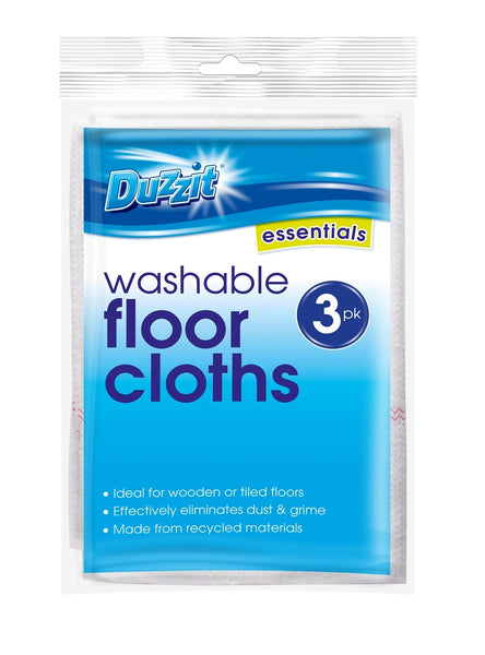 Washable Floor Cloths 3PK - ClothesLabels.UK