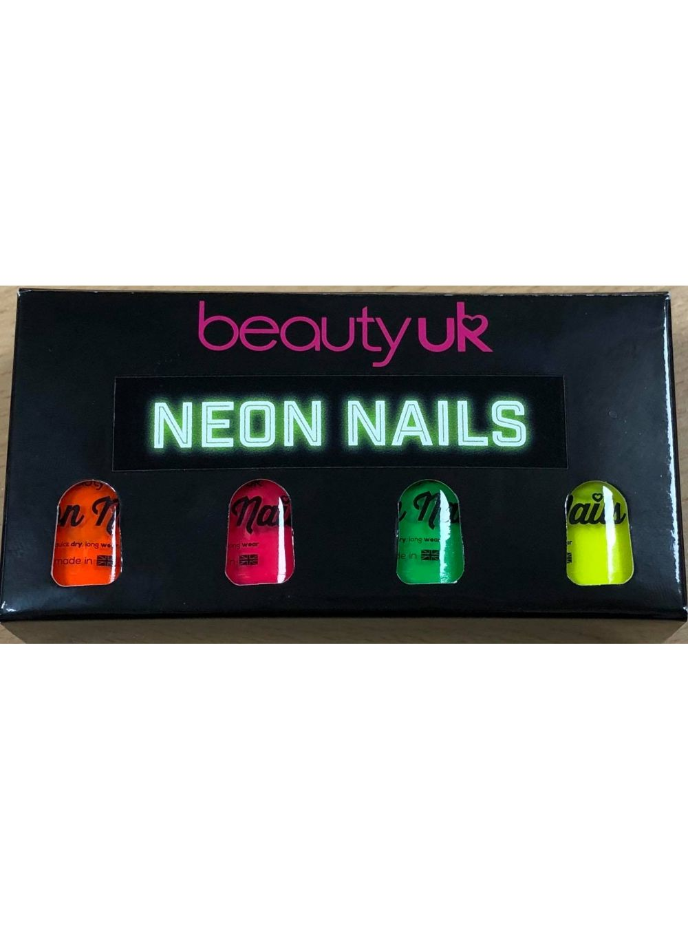 Neon Nail Gift Set by BeatyUK - ClothesLabels.UK
