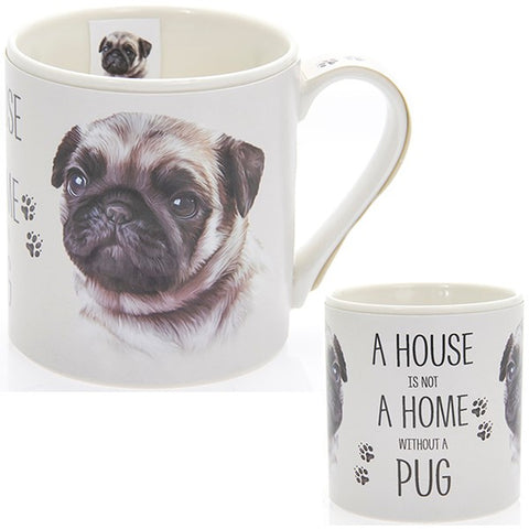 Pug House & Home Fine China Mug