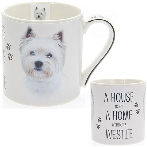 Westie House & Home Fine China Mug