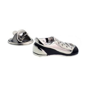 3D Football Boot Design Lapel Pin Badge - ClothesLabels.UK
