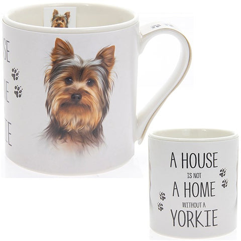 Yorkie House & Home Fine China Mug