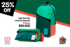 Light Pack green/coral + Dopp kit