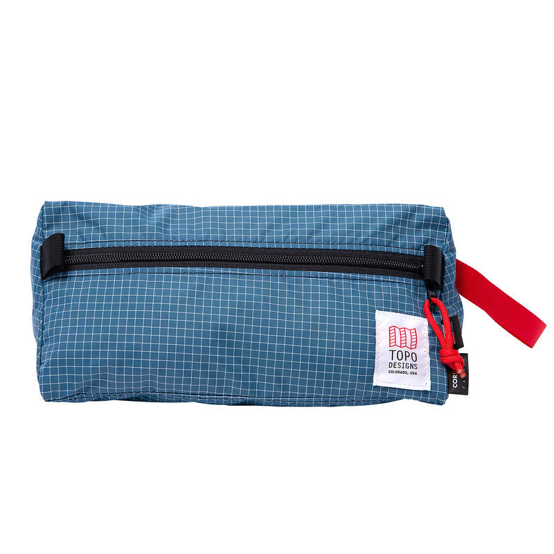 Estuche Dopp Kit BLUE/WHITE