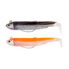 Black minnow doble combo 4,5gr sexy brown/orange