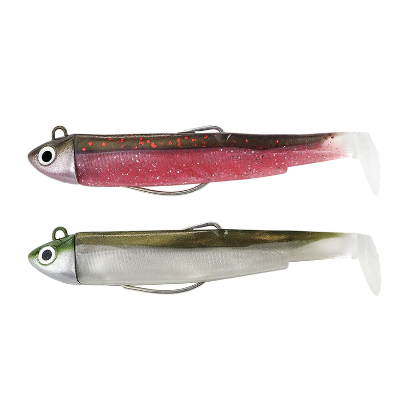 Black minnow doble combo 4,5gr rose/kaki