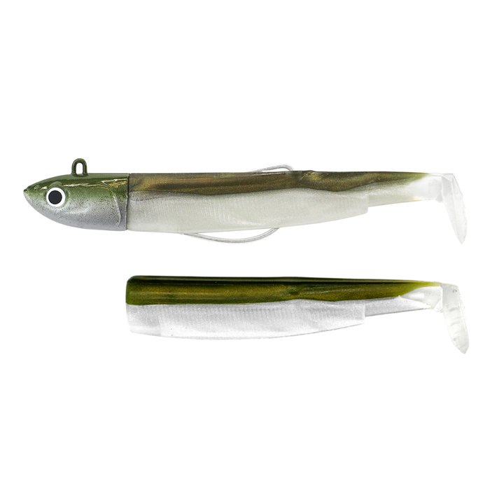 Black Minnow Combo off Shore  25gr Kaki