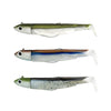 Black Minnow Triple combo Off Shore 25gr KAKI/CLEAR BROWN/MOJITO