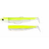 Black Minnow Combo off Shore  25gr Janue Fluo