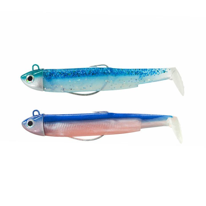 Black Minnow doble combo  Search 18gr Blue Lagoon Rose/ Rattles