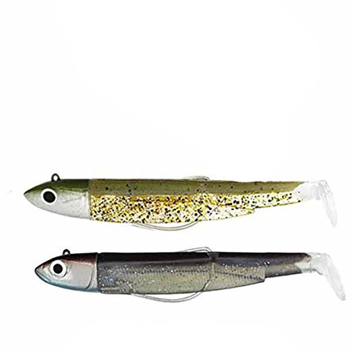 Black Minnow Doble Combo 12gr Kaki/Ghost