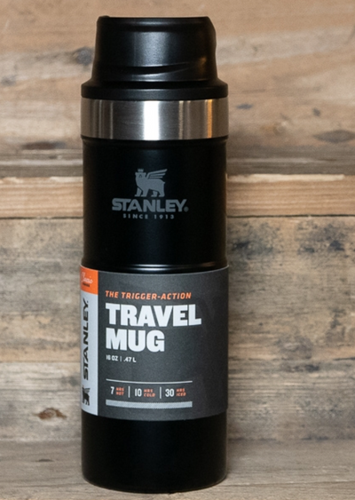 Travel MUG BLACK | 473 ML
