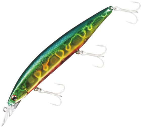 Hirame Hunter Z 120 S GREENGOLD RED BELLY