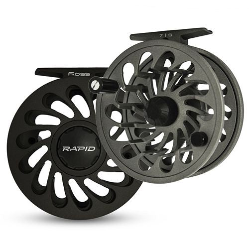 ROOS REELS RAPID REEL 3/4 BLACK