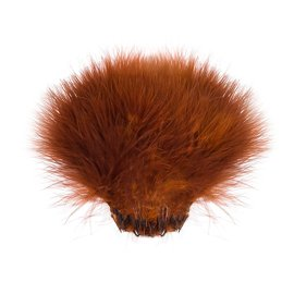 Strung marabou rusty brown