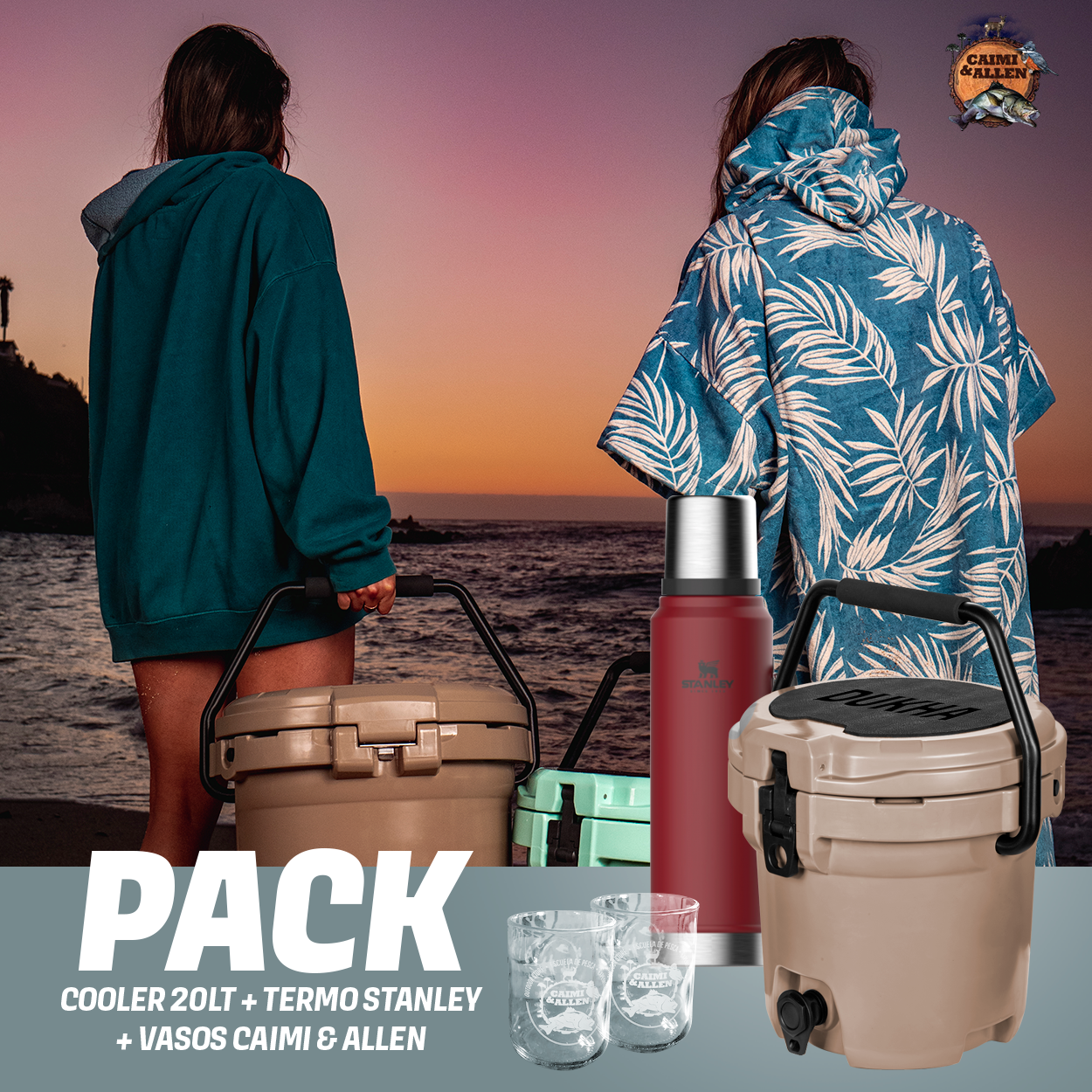 PACK CAMPING HARD COOLER