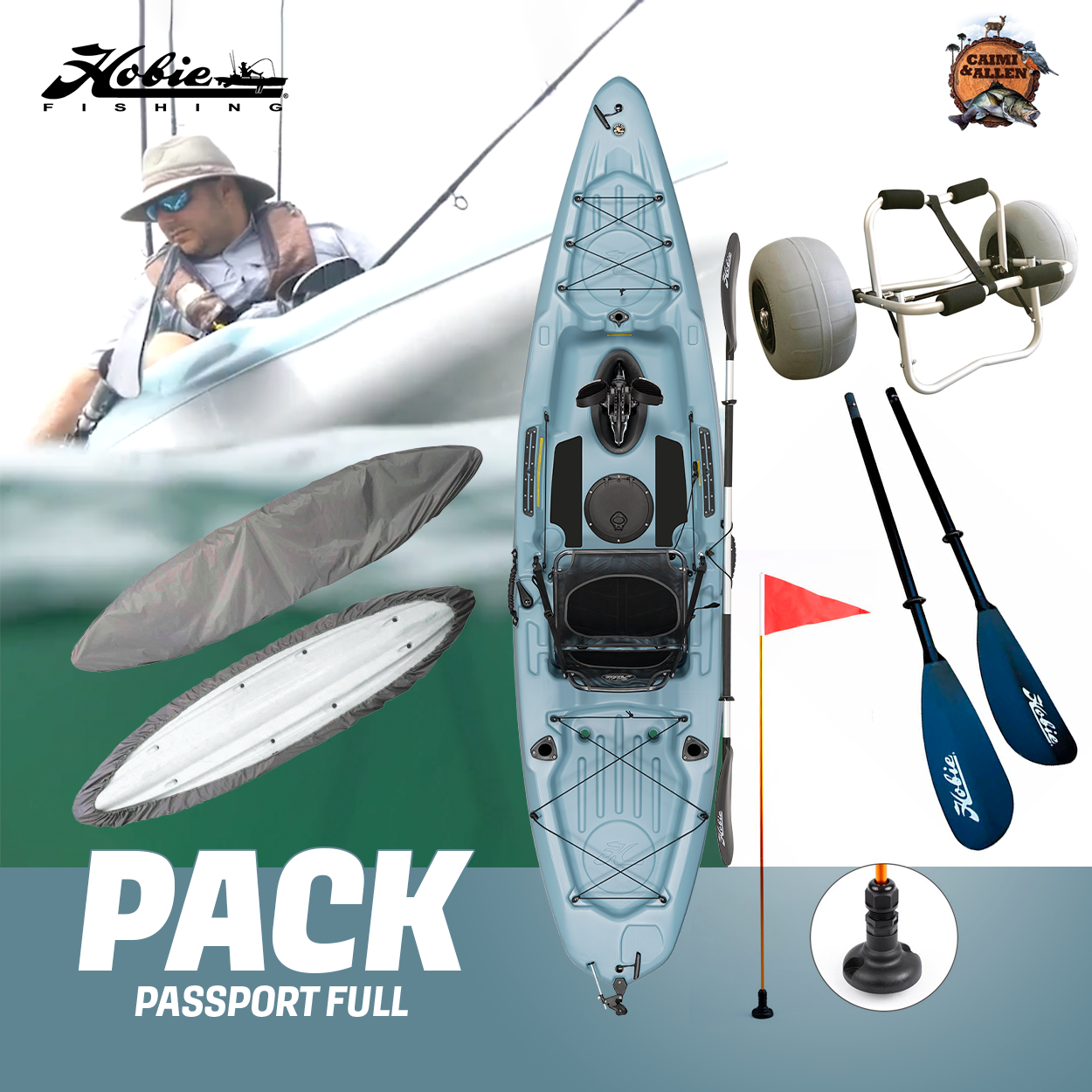 PACK HOBIE PASSPORT 12 - FULL PEDAL