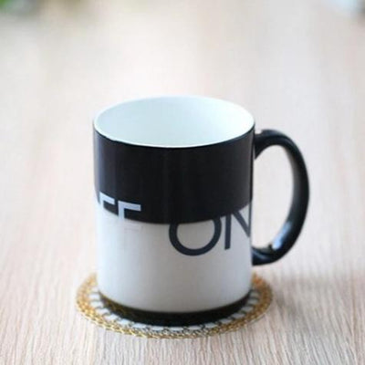 MUG À THÉ THERMORÉACTIF <BR>On-OFF