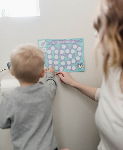 Using a potty chart to train your child