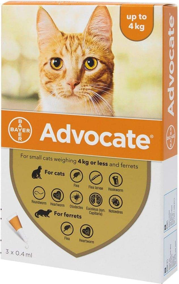 Advocate Small Cats (0-4kg)